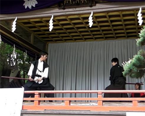 大宮八幡宮演武