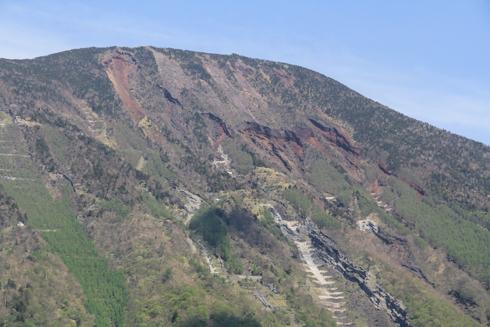 華厳の滝と男体山-7