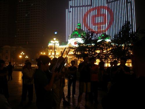 07091107中国銀行ライトアップ
