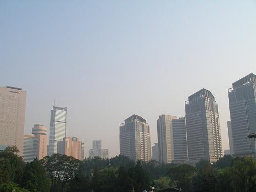 07091203労働公園から見た大連の街