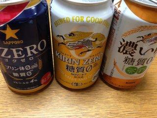 s糖質オフビール飲み比べ
