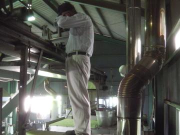 茶工場カビ取り