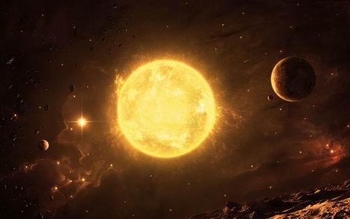 太陽と惑星があるimage