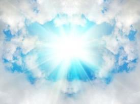 天国からの光的なimage