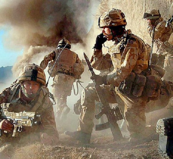 戦場の兵士(イラク)のimage