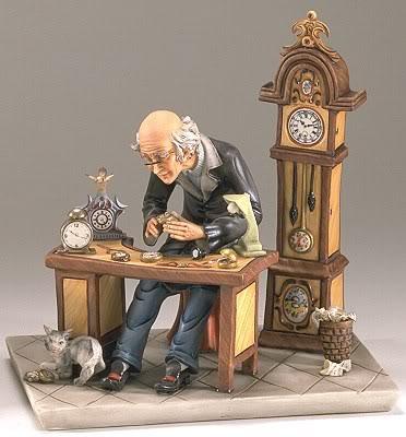 時計屋のお爺さんなimage