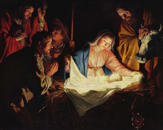 クリスマス(幼子への羊飼いたちの訪問)image