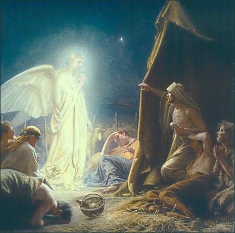クリスマス(羊飼いに天使が現れる)image