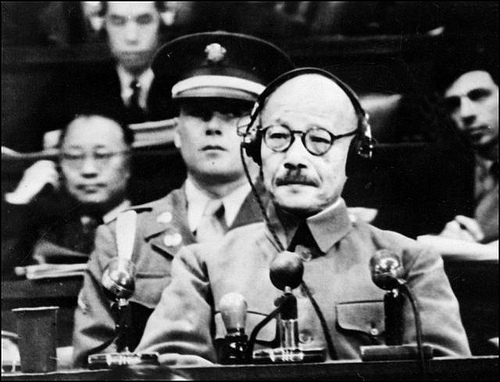 東條英機(東京裁判)image