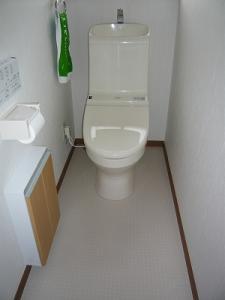 久野 トイレ 施工後