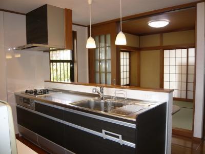 久野 キッチン施工後1
