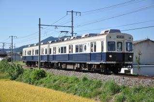 2011年9月24日 上田電鉄別所線 赤坂上~三好町 7200系7255F