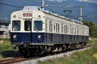 2011年9月24日 上田電鉄別所線 三好町~赤坂上 7200系7255F