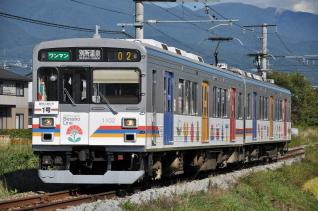 2011年9月24日 上田電鉄別所線 三好町~赤坂上 1000系1002F