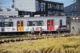 2011年9月24日 上田電鉄別所線 寺下~上田原 1000系1003F