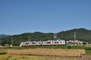 2011年9月24日 上田電鉄別所線 下之郷~大学前 1000系1004F