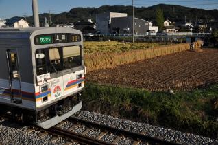 2011年9月24日 上田電鉄別所線 寺下~上田原 1000系1002F