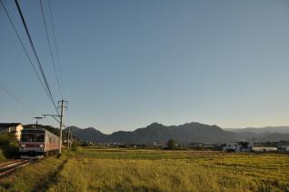2011年9月24日 上田電鉄別所線 神畑~寺下 1000系1004F