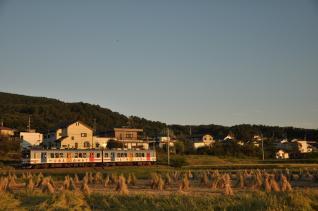 2011年9月24日 上田電鉄別所線 寺下~神畑 1000系1002F