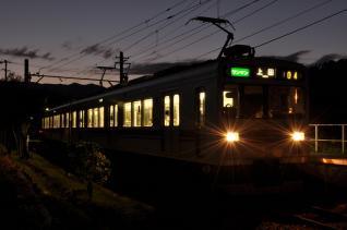 2011年9月24日 上田電鉄別所線 八木沢 1000系1004F