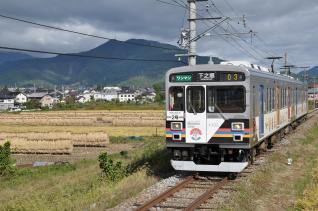 2011年10月1日 上田電鉄別所線 大学前~下之郷 1000系1003F