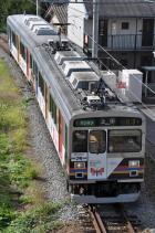 2011年10月1日 上田電鉄別所線 大学前~神畑 1000系1003F