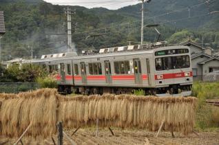 2011年10月1日 上田電鉄別所線 別所温泉~八木沢 1000系1004F