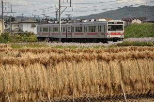 2011年10月1日 上田電鉄別所線 中野~舞田 1000系1001F
