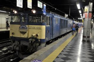 2011年10月5日 JR東日本 上野 寝台特急あけぼの