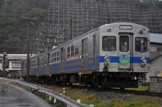 2011年10月6日 弘南鉄道大鰐線 宿河原~大鰐 7031-7032