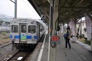 2011年10月6日 弘南鉄道大鰐線 大鰐 7031-7032