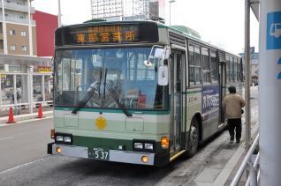 2011年10月6日 青森市営バス