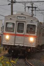 2011年10月6日 十和田観光電鉄 工業高校前~十和田市 7703-7903