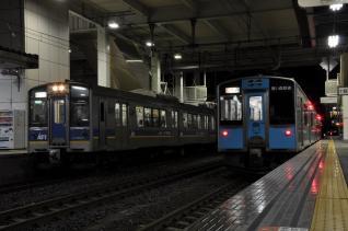 2011年10月6日 青い森鉄道 八戸 IGR7000系・青い森701系