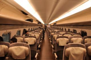 2011年10月6日 JR東日本東北新幹線 E5系車内