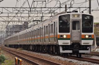 2011年10月18日 JR東日本東海道本線 辻堂~藤沢 211系N60以下15両
