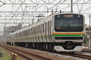 2011年10月18日 JR東日本東海道本線 辻堂~藤沢 E231系K-20