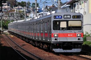2011年10月26日 東急東横線 9000系9012F
