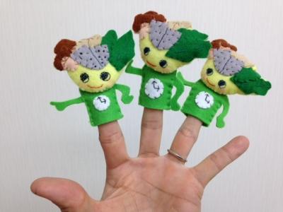 指人形かんぶっちゃん