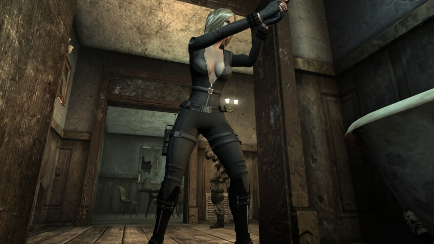 Fallout New Vegasモハビ旅 Black Widow Armor 2 Bnb And Nonbnb