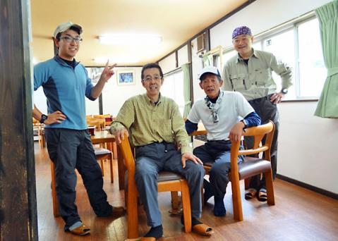 雄川閣で昼食