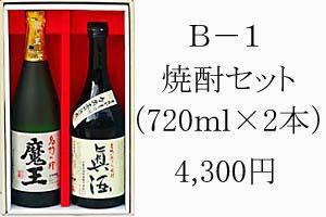 B-1 焼酎セット 4,300円