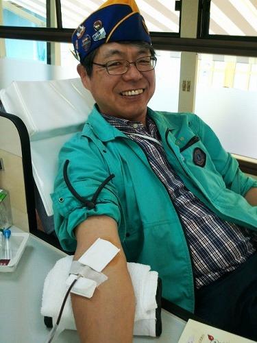 今回も元気に献血ができました。