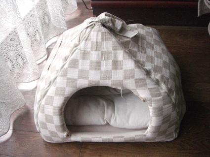 タズのベッド