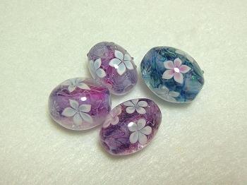 お花玉(紫)