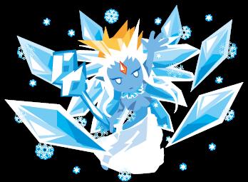 Zボス014_ボスエレメンタル氷