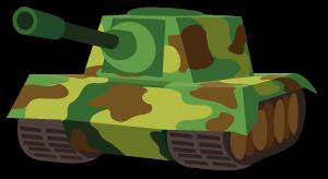 Zボス036_迷彩戦車