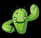 C植物017サボテンガー