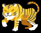 A動物058_タイガー