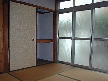 川島コーポ和室